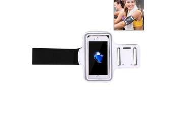 For iPhone 8PLUS/7PLUS/6PLUS Armband,Durable Modish Sports Shielding Cover,White