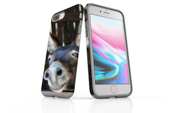 For iPhone 8 Plus Case, Protective Back Cover, Donkey