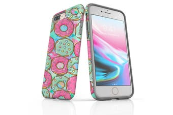 For iPhone 8 Plus Shielding Back Case, Donuts