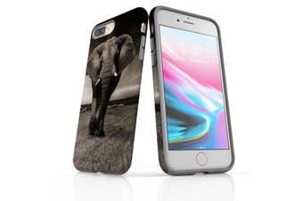 For iPhone 8 Plus Shielding Back Case, Elephant