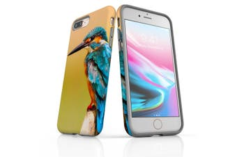 For iPhone 8 Plus Shielding Back Case, Kingfisher