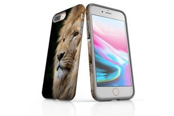 For iPhone 8 Plus Shielding Back Case, Lion