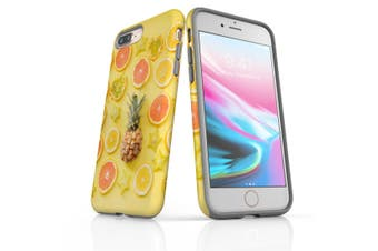 For iPhone 8 Plus Shielding Back Case, Tropical