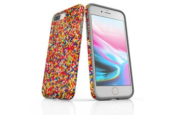 For iPhone 8 Plus Shielding Back Case, Sprinkles