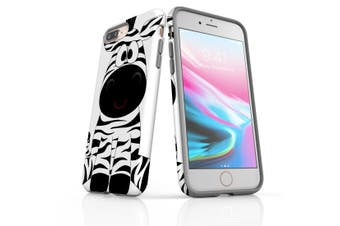 For iPhone 8 Plus Shielding Back Case, Zebra
