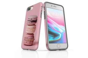 For iPhone 8 Plus / 7 Plus Shielding Case, Pink Macarons