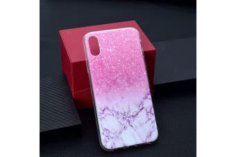For iPhone XS MAX Cover,Grippy Thin Slim Shockproof Mobile Phone Case,Marble