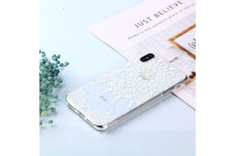 For iPhone XS MAX Cover,Shockproof Dustproof Slim Soft Mobile Phone Case,Mandala