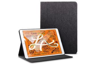 For iPad Mini 5 (2019) Smart Case, Folio Cover with Built-in Kickstand, Black