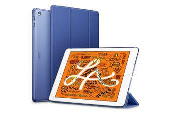 For iPad Mini 5 (2019) Smart Case, Slim Folio Cover with 3-fold Stand, Blue