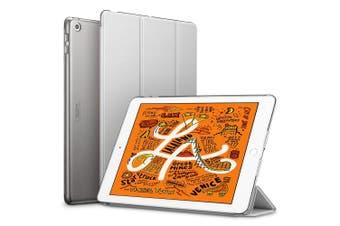 For iPad Mini 5 (2019) Smart Case, Slim Folio Cover 3-fold stand Silver Grey