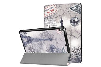 For iPad Pro 10.5inch Case,Stylish Eiffel Tower Pattern Durable Protective Cover