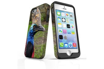For iPhone SE/5s/5 Case Armoured Tough Cover,Cassowary