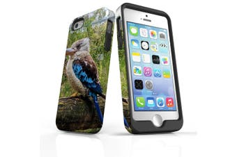 For iPhone SE/5s/5 Case Armoured Tough Cover,Kookaburra Tree Branch