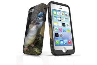 For iPhone SE/5s/5 Case Armoured Tough Cover,St Kilda Penguins