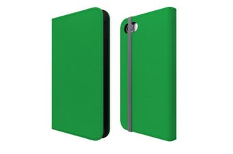 For iPhone SE (2020) / 8 / 7 Case Wallet Protective Cover Green