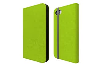 For iPhone SE (2020) / 8 / 7 Case Wallet Protective Cover Light Green