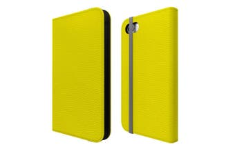 For iPhone SE (2020) / 8 / 7 Case Wallet Protective Cover Yellow