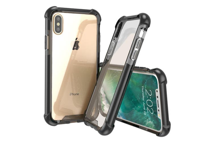 For iPhone XS,X Case,Styled Armour High-Quality Durable Protective Cover,Black