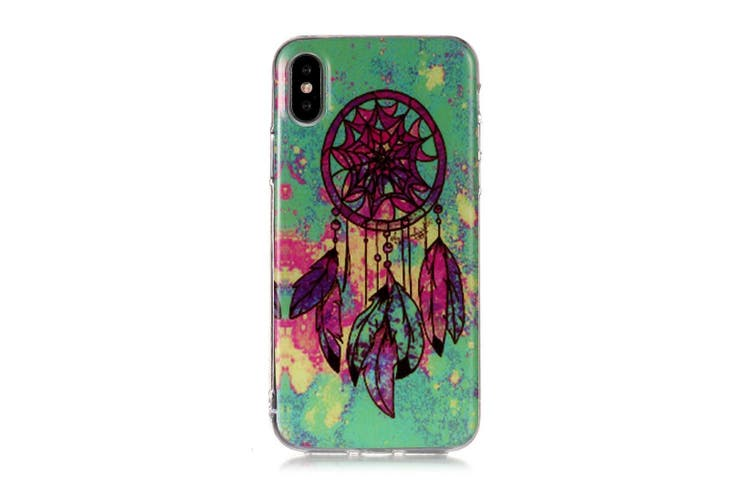 For iPhone XS Max Case Dreamcatcher TPU Protective Back Cover