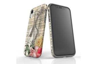 For iPhone XR Protective Case Unique Phone Cover  Music