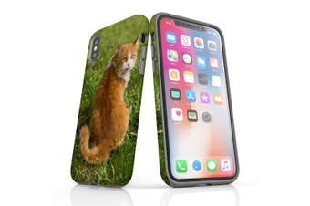 For iPhone XS Case  Protective Back Cover  Cat ToT