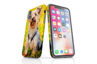 For iPhone XS Case  Protective Back Cover  Yorkie