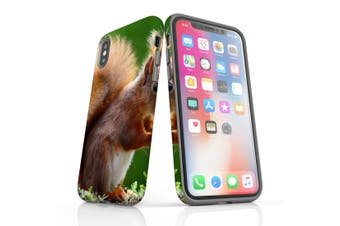 For iPhone XS Case  Protective Back Cover  Cute Squirel