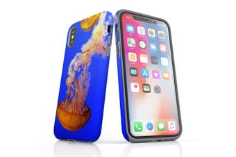 For iPhone XS Case  Protective Back Cover  Jellyfish Duo
