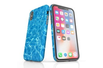 For iPhone XS Max Protective Case Unique Phone Cover, Water