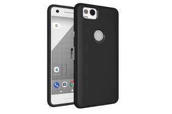 For Google Pixel 2 Case,Strong Styled Armour High-Quality Shielding Cover,Black