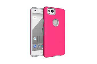 For Google Pixel 2 Case,Strong Styled Armor High-Quality Shielding Cover,Magenta