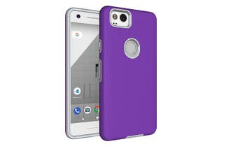For Google Pixel 2 Case,Strong Styled Armour High-Quality Shielding Cover,Purple