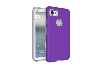 For Google Pixel 2 XL Case,Strong Styled Armor High-Quality Durable Cover,Purple
