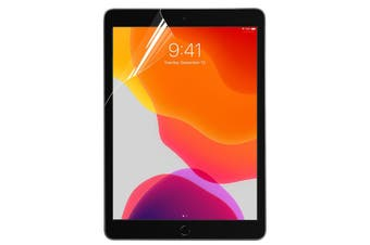 [2-pack] For  iPad 7 10.2 Inch 2019 Plastic Full Screen Protector