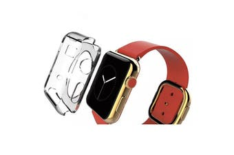 For Apple Watch 1,2,3,4(40mm,38mm) Transparent Crystal TPU Protective Case