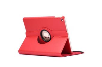For iPad Air 2 Case,Modern Flip Leather High-Quality Shielding Cover,Red