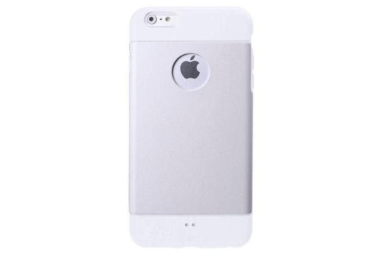 For iPhone 6S,6 Case,Modern Shell High-Quality Durable Shielding Cover,Silver