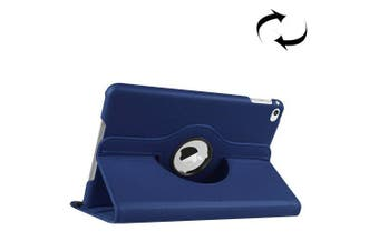 For iPad Mini 4 Case, Leather High-Quality Shielding Cover,Dark Blue