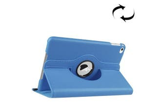 For iPad Mini 4 Case, Leather High-Quality Durable Shielding Cover,Blue