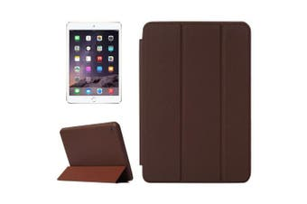 For iPad Mini 4 Case,Smart High-Quality Durable Shielding Cover,Brown