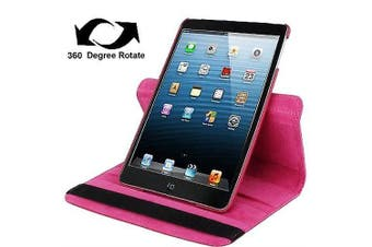 For iPad mini 1 / 2 / 3 Case, Durable High-Quality Leather Cover,Magenta