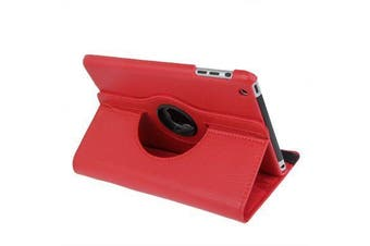 For iPad mini 1 / 2 / 3 Case, Durable High-Quality Leather Cover,Red