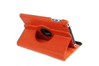 For iPad mini 1 / 2 / 3 Case, Durable High-Quality Leather Cover,Orange