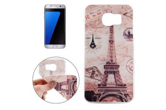 For Samsung Galaxy S7 EDGE Case Eiffel Tower Durable Shielding Cover