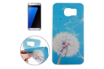 For Samsung Galaxy S7 EDGE Case Blue Dandelion Durable Shielding Cover