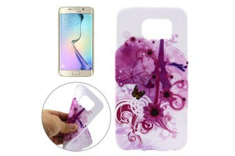 For Samsung Galaxy S7 EDGE Case Butterfly  Flowers High-Quality Shielding Cover