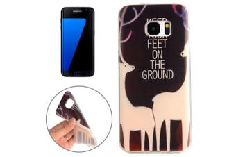 For Samsung Galaxy S7 EDGE Case Stylish Sika Deer High-Quality Protective Cover