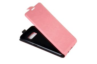 For Samsung Galaxy S8 Case,Elegant Vertical Flip Protective Leather Cover,Pink