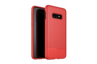 For Samsung Galaxy S10e Case Red TPU Back Shell Cover